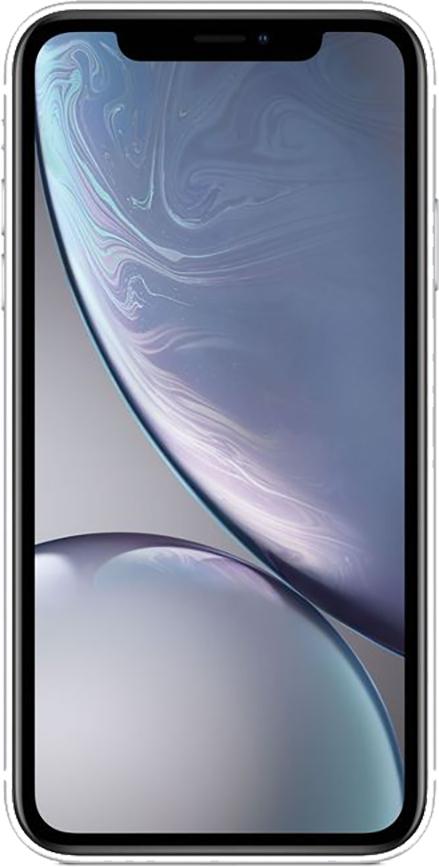 Apple iPhone XR 128GB (Fehér) 3GB RAM - 1 év gyártói garancia
